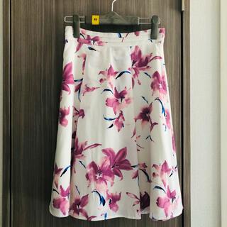 PROPORTION BODY DRESSING - プロポーションボディドレッシング 花柄スカート