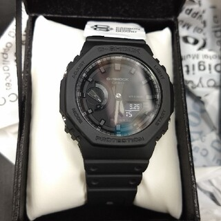 CASIO G-SHOCK GA-2100-1A1JF オールブラック