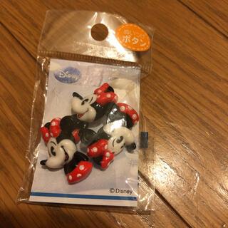 Disney - ディズニー ミニーちゃん ボタン