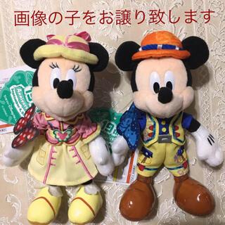 Disney - TDS19周年トレイル ミッキー&ミニーぬいばセット