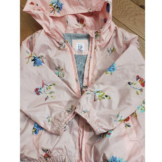GAP パーカー キッズ/ベビー/マタニティのキッズ服女の子用(90cm~)(ジャケット/上着)の商品写真