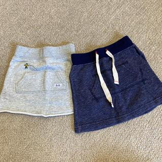 リー(Lee)のLee×stompstamp スカート 2点セット 90cm(スカート)