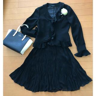 COMME CA ISM - 卒業式 入学式 ブラックフォーマル スーツ ワンピース