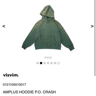 ヴィスヴィム(VISVIM)のvisvim 21ss AMPLUS HOODIE P.O. CRASH(パーカー)