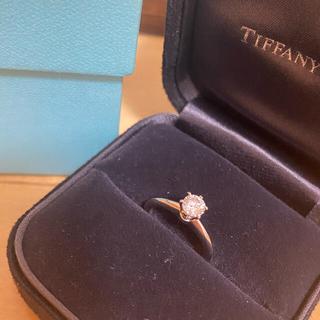 Tiffany & Co. - ティファニー 一粒ダイヤリング