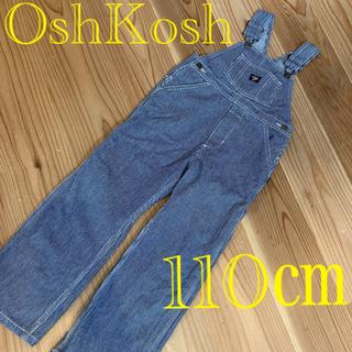 OshKosh - お値下げ!貴重 オシュコシュ  オーバーオール ストライプ