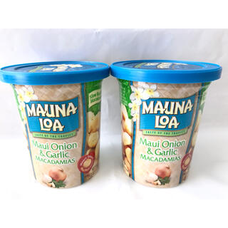 ハワイ マウナロアマカデミアナッツ【マウイオニオンガーリック×2個】(菓子/デザート)