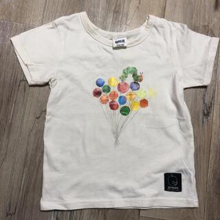 ブリーズ(BREEZE)のはらぺこあおむし半袖Tシャツ100サイズ(Tシャツ/カットソー)