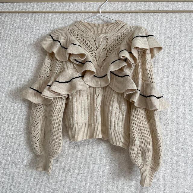 Lily Brown(リリーブラウン)のニット レディースのトップス(ニット/セーター)の商品写真