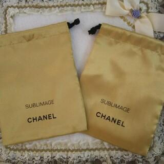 CHANEL - シャネル  サブリマージュ 巾着2枚