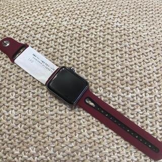 アップル(Apple)のアップルウォッチ series3 42mm 001 apple watch (腕時計(デジタル))