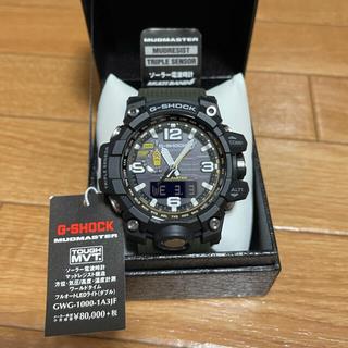 G-SHOCK - ⭐️新品未使用⭐️G-SHOCKマッドマスターGWG-1000-1A3JF