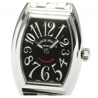 フランクミュラー(FRANCK MULLER)の☆美品 フランクミュラー コンキスタドール 8005LQZ レディース 【中古】(腕時計)