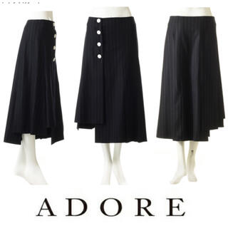 ADORE - ◆美品•1度着用のみクリーニング済み◆アシンメトリースカート ADOREアドーア