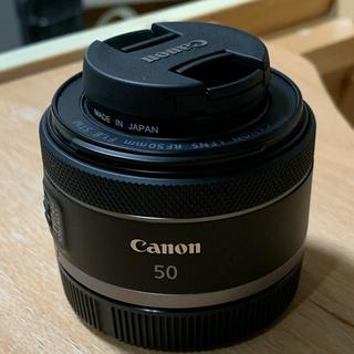 Canon - RF50mm F1.8 stm 試し撮りのみ フィルターつき