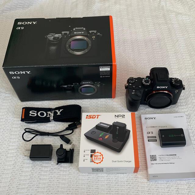 SONY(ソニー)のSONY α9 ボディ ILCE-9 スマホ/家電/カメラのカメラ(ミラーレス一眼)の商品写真