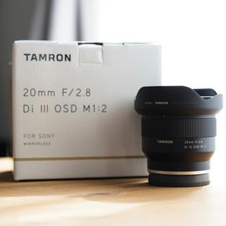 TAMRON - TAMRON 20mm F2.8 DI III OSD 使用1度のみ