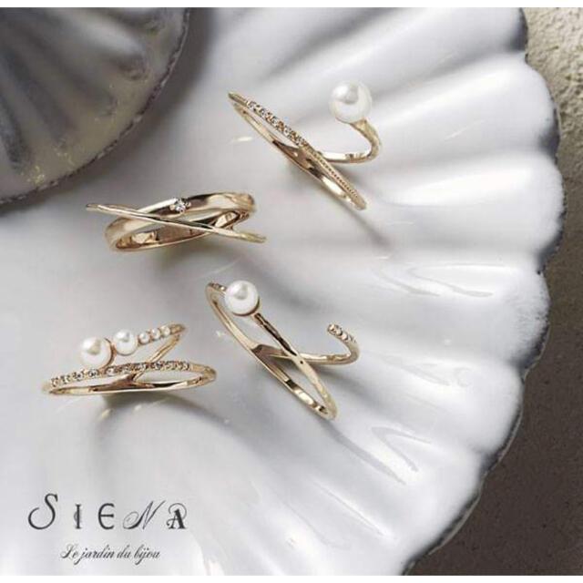 agete(アガット)のSiena シエナ パンシェ K10 リング レディースのアクセサリー(リング(指輪))の商品写真