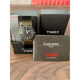 タイメックス(TIMEX)のTIMEX  カーキ 新品(腕時計(アナログ))