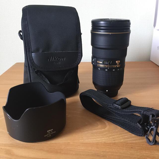 Nikon(ニコン)のニコン AF-S NIKKOR 24-70mm f/2.8E ED VR スマホ/家電/カメラのカメラ(レンズ(ズーム))の商品写真