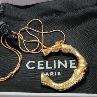 celine - セリーヌ アルファベットネックレス 箱付き