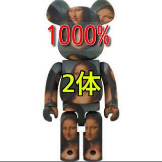 BE@RBRICK モナリザ Mona Lisa 1000% 2体(その他)