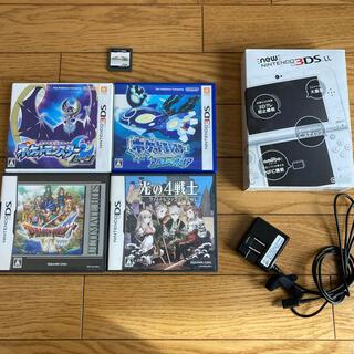 ニンテンドー3DS(ニンテンドー3DS)のNintendo 3DS NEW ニンテンドー 本体 LL パールホワイト(携帯用ゲーム機本体)