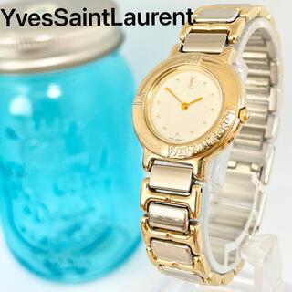 Saint Laurent - 250 イヴサンローラン時計 レディース腕時計 新品電池 アンティーク 箱付き