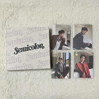 セブンティーン(SEVENTEEN)のENTEEN セミコロン ミニカード トレカセット(バラ売り可能)(K-POP/アジア)