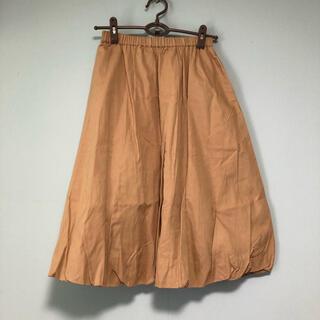 シサム工房 コットンバルーンスカート (ひざ丈スカート)