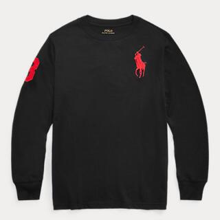 POLO RALPH LAUREN - 150 ポロ ラルフローレン  ビッグポニー 長袖 Tシャツ ブラック