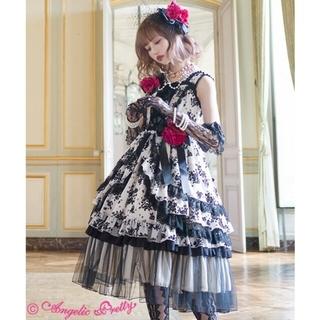 アンジェリックプリティー(Angelic Pretty)のLuna様専用 la vie en rose ワンピース アイボリー 試着のみ(ひざ丈ワンピース)