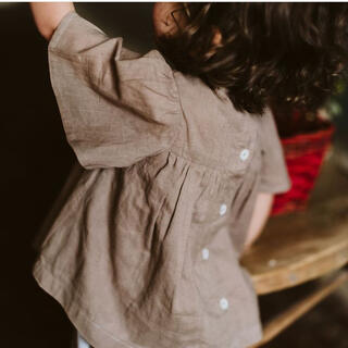 Caramel baby&child  - little cotton clothes ブラウス4-5y