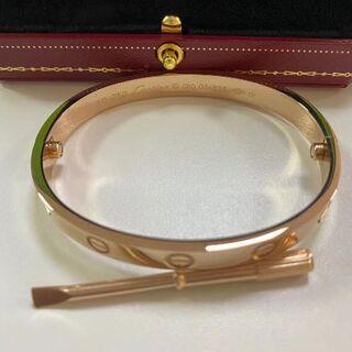 Cartier - ♡Cartier♡カルティエ ラブブレス ピンクゴールド 18
