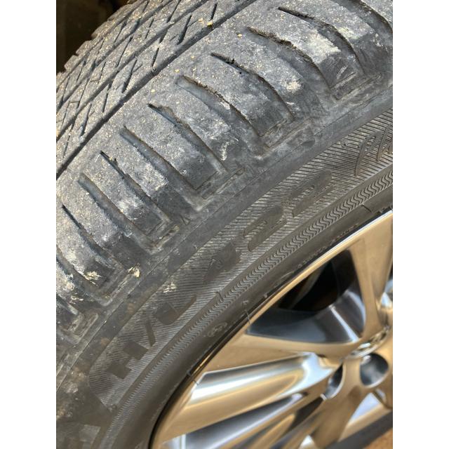 BRIDGESTONE(ブリヂストン)のハリアー60後期プレミアム純正ホイール18インチ ブリヂストンエコピア 自動車/バイクの自動車(タイヤ・ホイールセット)の商品写真