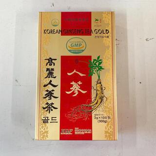 高麗人参茶ゴールド3g 100包 健康食品 漢方 高麗人参 サプリ お茶(茶)