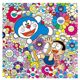 村上隆 × ドラえもん ポスター 楽しいね 新品未開封 ED300 村上隆(ポスター)