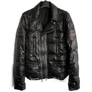 ロエン(Roen)の定価9.7万★Roenライダースダウンジャケット ライダースジャケット コート(ダウンジャケット)