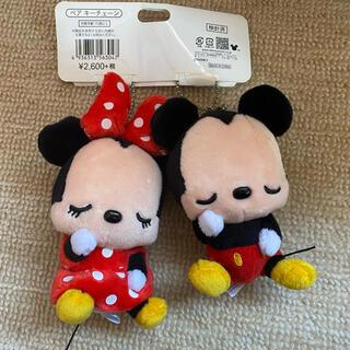 ディズニー(Disney)のミッキー&ミニー キーホルダー(キーホルダー)