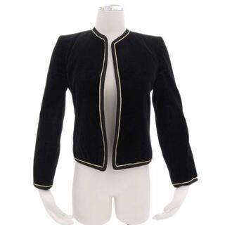 Christian Dior - クリスチャン ディオール Dior ジャケット ベロア ブラック 黒
