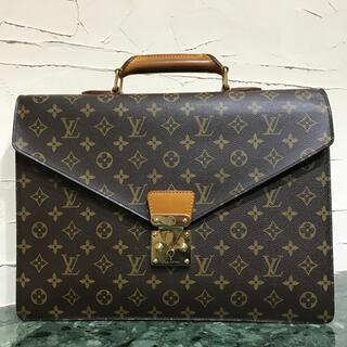 ルイヴィトン(LOUIS VUITTON)の美品 Louis Vuitton モノグラムライン セルヴィエット コンセイエ(ビジネスバッグ)