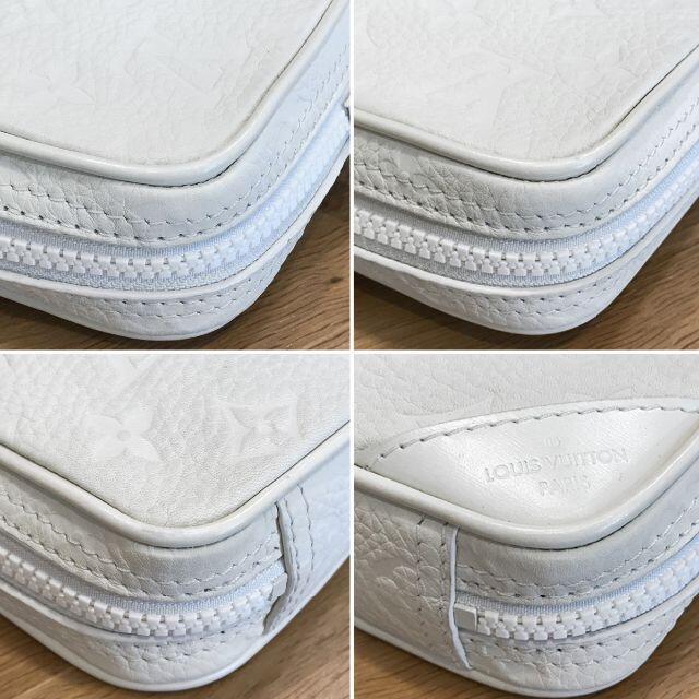 LOUIS VUITTON(ルイヴィトン)の超美品 ルイヴィトン ヴァージルアブロー ユティリティサイドバッグ 白 メンズのバッグ(ボディーバッグ)の商品写真