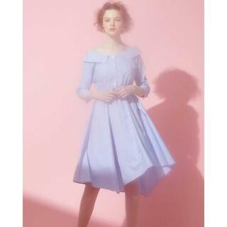 PROPORTION BODY DRESSING - 【売切品】ピンストシャツワンピース