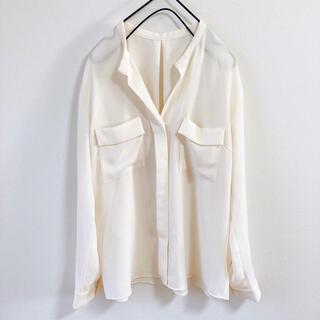 TOMORROWLAND - トゥモローランド フロントポケットシャツ ブラウス セオリー プラステ イエナ