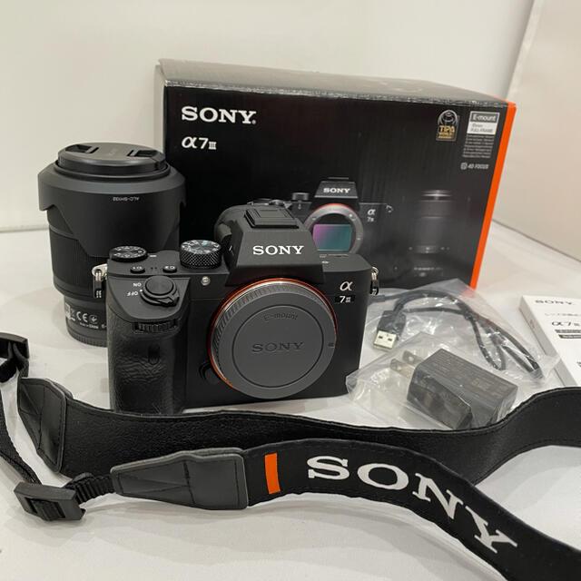 SONY(ソニー)の403 2020年7月購入 5年保証 ソニー α7III ILCE-7M3K スマホ/家電/カメラのカメラ(デジタル一眼)の商品写真