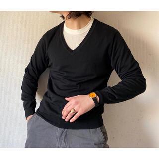 イッセイミヤケ(ISSEY MIYAKE)の薄手 vintage 1996A/W issey miyake Vネックニット(ニット/セーター)