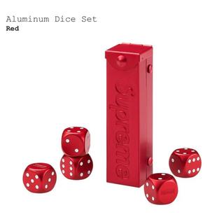Supreme - Aluminum Dice Set Red