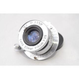 ライカ(LEICA)の【美品】ライカ エルマー Leica Elmar L 50mm F3.5(レンズ(単焦点))