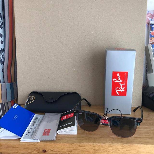 Ray-Ban(レイバン)のレイバンクラブマスターRB3016Fアジアンフィット メンズのファッション小物(サングラス/メガネ)の商品写真