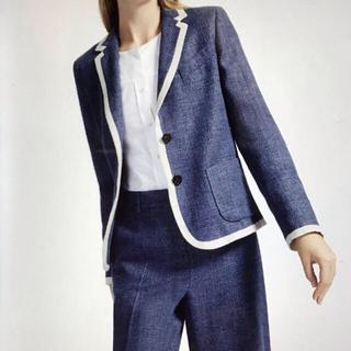 マックスマーラ(Max Mara)のマックスマーラ ウイークエンド ♡ パンツスーツ ♡ ブルーグレー(スーツ)